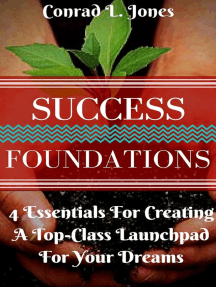 Success Foundation: 4 Essentials For Creating A Top-Class Launchpad For Your Dreams
