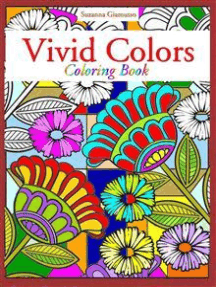 Vivid Colors: Coloring Book