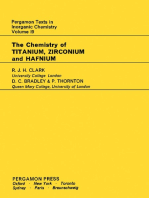 The Chemistry of Titanium, Zirconium and Hafnium