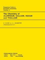 The Chemistry of Aluminium, Gallium, Indium and Thallium: Comprehensive Inorganic Chemistry