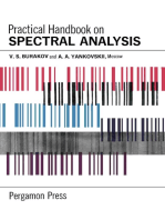 Practical Handbook on Spectral Analysis