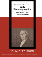 Early Electrodynamics