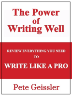 Review Everything You Need to Write Like a Pro