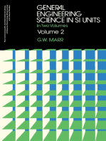 General Engineering Science in SI Units