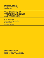 The Chemistry of Vanadium, Niobium and Tantalum