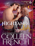 Highland Lady (Scottish Fire Series, Book 1)