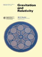Gravitation and Relativity