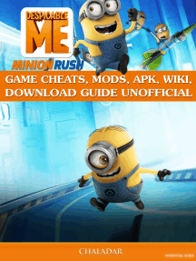 Despicable Me Minion Rush Game Cheats, Mods, Apk, Wiki, Download Guide  Unofficial by Chala Dar - Book - Read Online