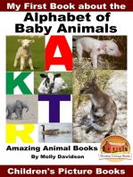 My First Book about the Alphabet of Baby Animals