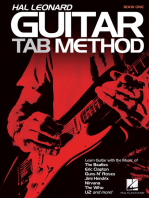 Hal Leonard Guitar Tab Method: Book Only