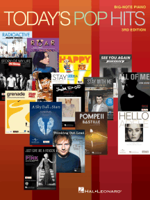 Today's Pop Hits - 3rd Edition: for Big-Note Piano