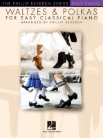 Waltzes & Polkas for Easy Classical Piano