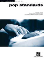 Pop Standards: Jazz Piano Solos Series Volume 41