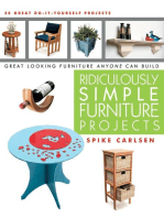Ridiculously Simple Furniture Projects