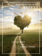 Little Ways for Living Today
