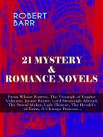21 MYSTERY & ROMANCE NOVELS
