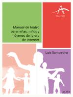 Manual de teatro para niñas, niños y jóvenes de la era de Internet