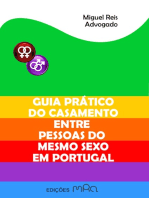 Guia Prático do Casamento entre Pessoas do Mesmo Sexo em Portugal