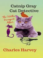 Catnip Gray Cat Detective