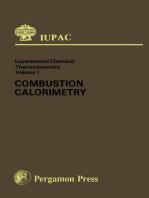 Combustion Calorimetry