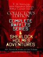 COLLECTOR'S EDITION – COMPLETE RAFFLES SERIES & SHERLOCK HOLMES ADVENTURES