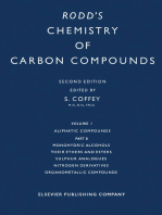 Monohydric Alcohols Their Ethers and Esters Sulphur Analogues Nitrogen Derivatives Organometallic Compounds: A Modern Comprehensive Treatise