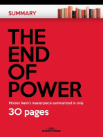 The End of Power: Moisés Naím's masterpiece summarized in only 30 pages
