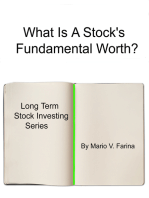What Is A Stock's Fundamental Worth?