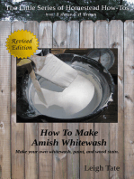 How To Make Amish Whitewash