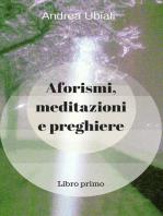 Aforismi, meditazioni e preghiere