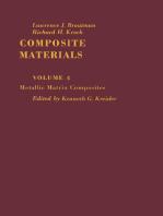 Metallic Matrix Composites: Composite Materials, Vol. 4
