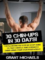 30 Chin-Ups in 30 Days!