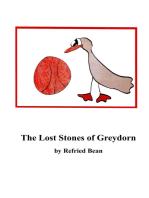 The Lost Stones of Greydorn