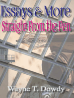 Essays & More Straight From The Pen