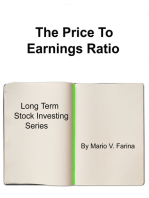 The Price To Earnings Ratio
