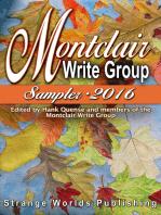 Montclair Write Group Sampler 2016