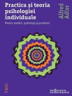 Practica și teoria psihologiei individuale. Pentru medici, psihologi și profesori