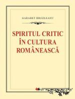 Spiritul critic în cultura românească