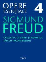 Opere esențiale, vol. 4 – Cuvântul de spirit și raportul său cu inconștientul