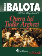 Opera lui Tudor Arghezi
