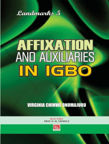 Affixation and Auxiliaries in Igbo
