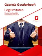 Legitimitatea. Ritualuri ale legalității și autoritate discursivă