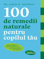 100 de remedii naturale pentru copilul tău