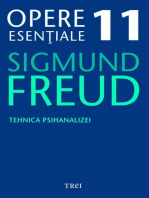 Opere esențiale, vol. 11 – Tehnica psihanalizei
