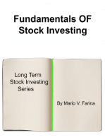 Fundamentals Of Stock Investing