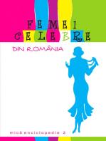 Femei celebre din România. Mică enciclopedie 2