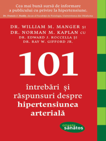 101 Întrebări și răspunsuri despre hipertensiunea arterială
