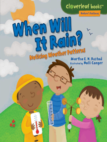 When Will It Rain?: Noticing Weather Patterns