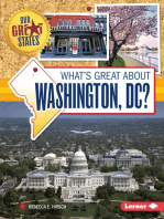 What's Great about Washington, DC?