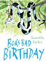 Boa's Bad Birthday